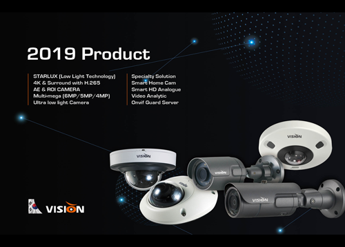 VISIONHITECH PRODUCT GUIDE 2019